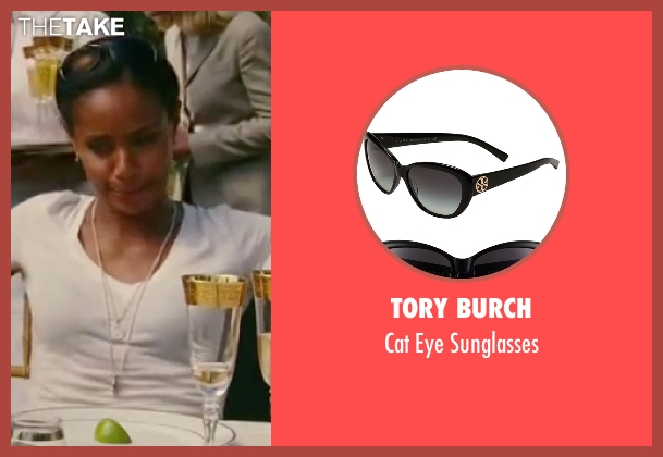 Tory Burch black sunglasses from The Women seen with Jada Pinkett Smith (Alex Fisher)