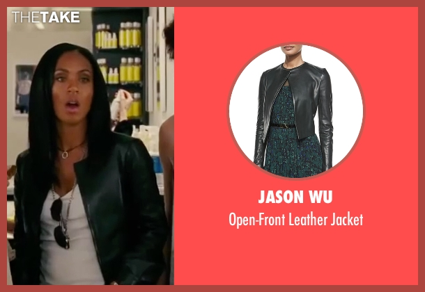 Jason Wu green jacket from The Women seen with Jada Pinkett Smith (Alex Fisher)