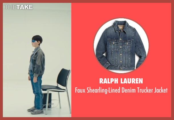 Ralph Lauren gray jacket from Midnight Special seen with Jaeden Lieberher (Unknown Character)