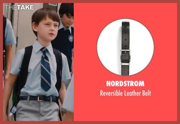 Nordstrom black belt from St. Vincent seen with Jaeden Lieberher (Oliver)