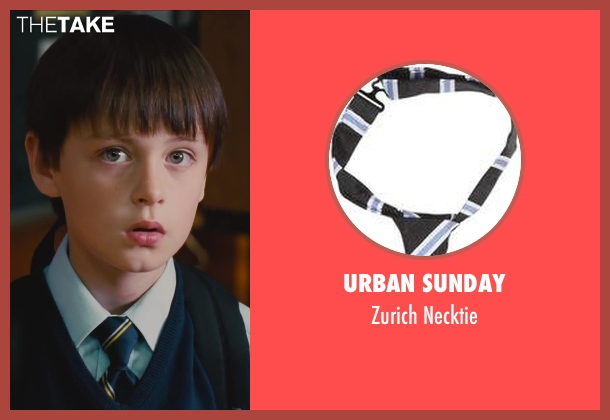 Urban Sunday necktie from St. Vincent seen with Jaeden Lieberher (Oliver)