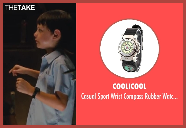 Coolicool watchband from St. Vincent seen with Jaeden Lieberher (Oliver)
