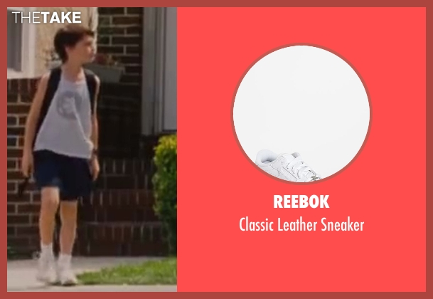 Reebok white sneaker from St. Vincent seen with Jaeden Lieberher (Oliver)
