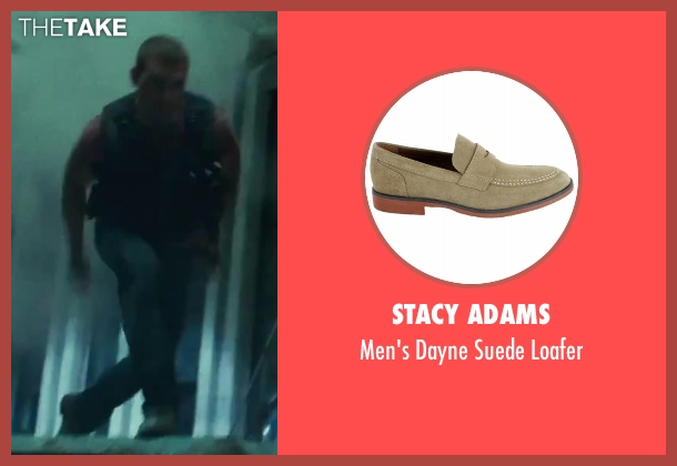 Stacy Adams beige loafer from A Good Day to Die Hard seen with Jai Courtney (Jack McClane)