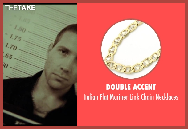Double Accent gold necklaces from A Good Day to Die Hard seen with Jai Courtney (Jack McClane)