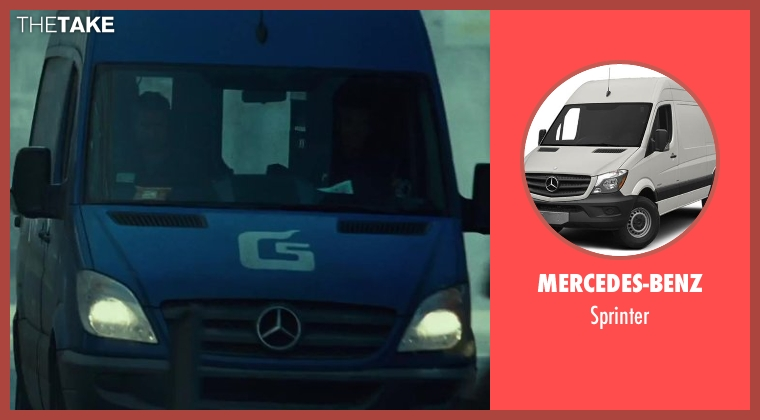 Mercedes-Benz sprinter from A Good Day to Die Hard seen with Jai Courtney (Jack McClane)