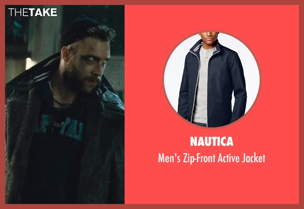 Nautica blue jacket from Suicide Squad seen with Jai Courtney (Captain Boomerang)