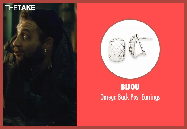 Bijou earrings from Suicide Squad seen with Jai Courtney (Captain Boomerang)