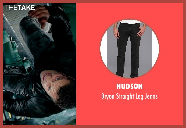Hudson black jeans from Terminator: Genisys seen with Jai Courtney (Kyle Reese)