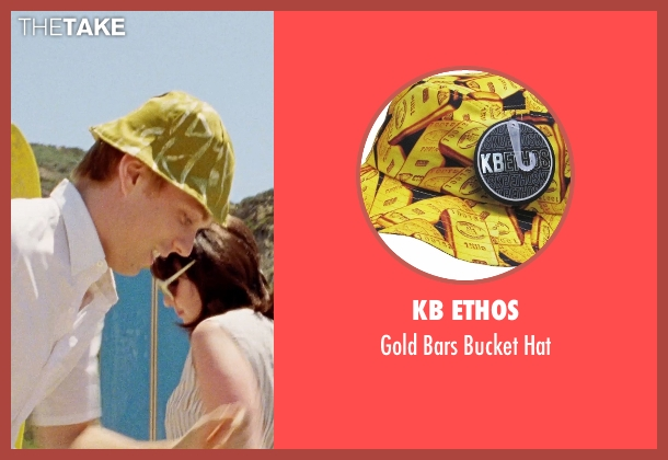 KB Ethos yellow hat from Love & Mercy seen with Jake Abel (Mike Love)