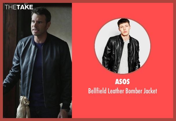 Asos black jacket from Scandal seen with Jake Ballard (Scott Foley)