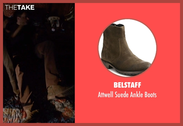 Belstaff brown boots from Scandal seen with Jake Ballard (Scott Foley)