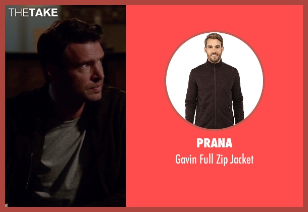 Prana brown jacket from Scandal seen with Jake Ballard (Scott Foley)