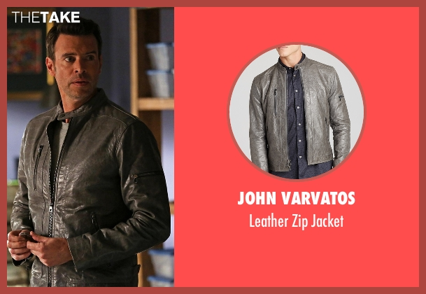 John Varvatos gray jacket from Scandal seen with Jake Ballard (Scott Foley)