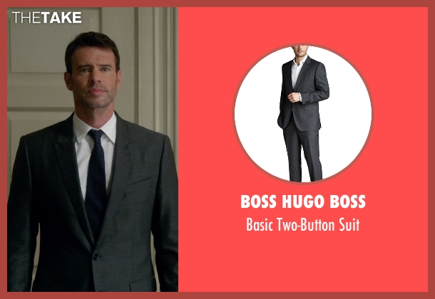 Boss Hugo Boss gray suit from Scandal seen with Jake Ballard (Scott Foley)