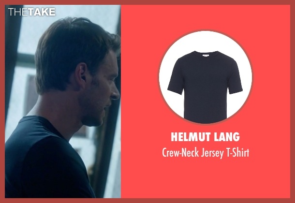 Helmut Lang t-shirt from Scandal seen with Jake Ballard (Scott Foley)