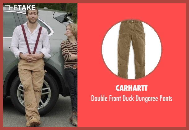 Carhartt beige pants from Demolition seen with Jake Gyllenhaal (Davis Mitchell)