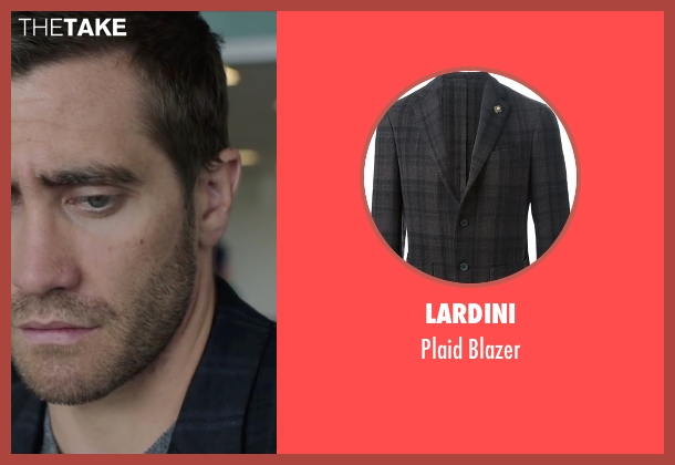 Lardini black blazer from Demolition seen with Jake Gyllenhaal (Davis Mitchell)