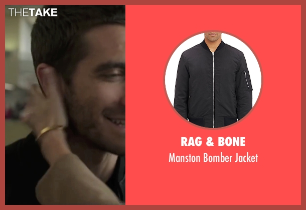 Rag & Bone black jacket from Demolition seen with Jake Gyllenhaal (Davis Mitchell)