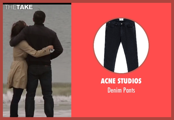 Acne Studios black pants from Demolition seen with Jake Gyllenhaal (Davis Mitchell)