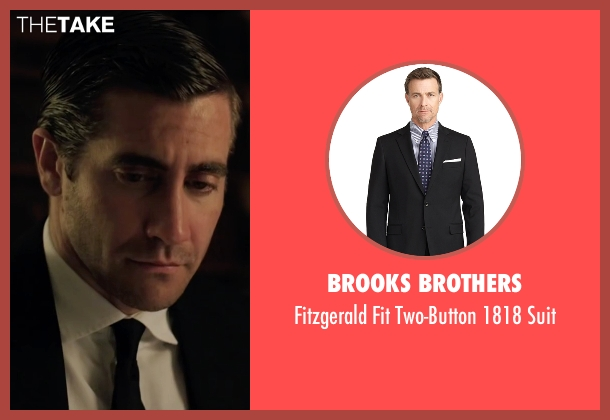 Brooks Brothers black suit from Demolition seen with Jake Gyllenhaal (Davis Mitchell)