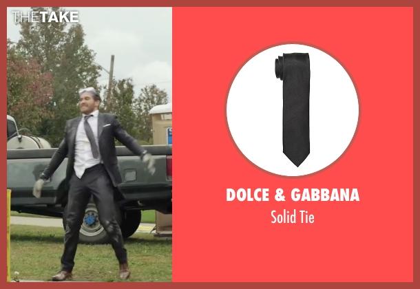 Dolce & Gabbana black tie from Demolition seen with Jake Gyllenhaal (Davis Mitchell)