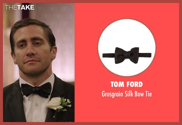 Tom Ford black tie from Demolition seen with Jake Gyllenhaal (Davis Mitchell)