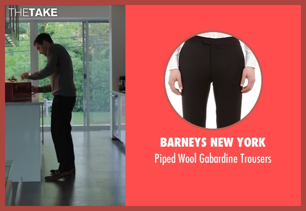Barneys New York black trousers from Demolition seen with Jake Gyllenhaal (Davis Mitchell)