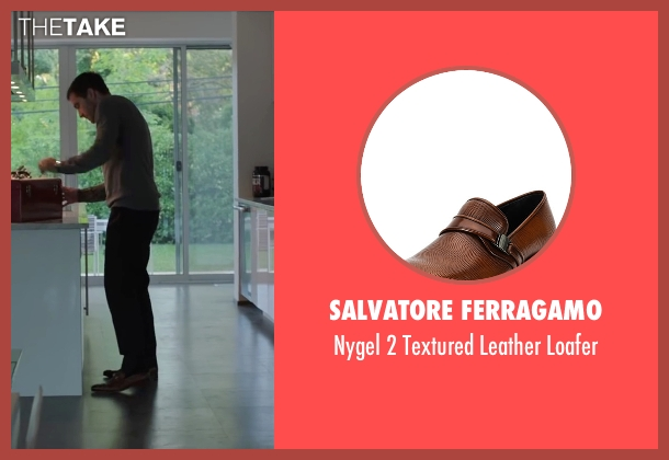 Salvatore Ferragamo	 brown loafer from Demolition seen with Jake Gyllenhaal (Davis Mitchell)