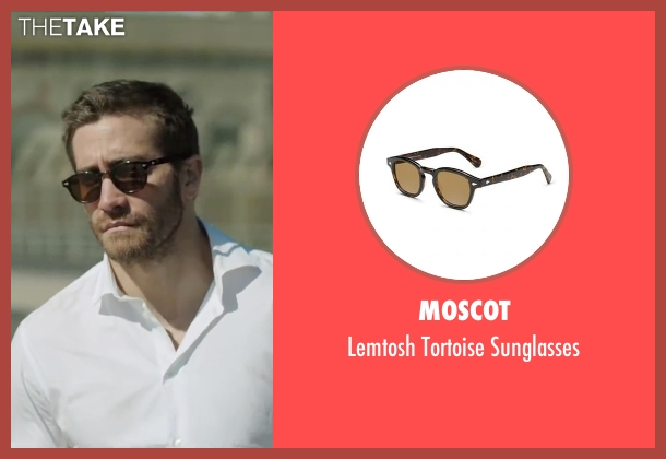 Moscot brown sunglasses from Demolition seen with Jake Gyllenhaal (Davis Mitchell)