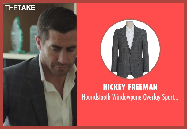 Hickey Freeman gray coat from Demolition seen with Jake Gyllenhaal (Davis Mitchell)