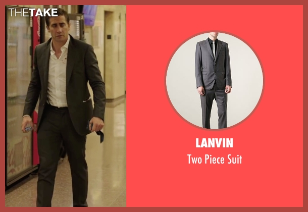 Lanvin gray suit from Demolition seen with Jake Gyllenhaal (Davis Mitchell)