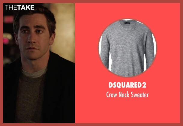 Dsquared2 gray sweater from Demolition seen with Jake Gyllenhaal (Davis Mitchell)