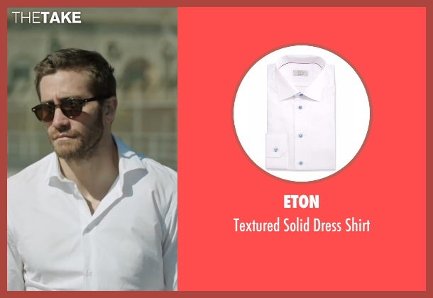 Eton white shirt from Demolition seen with Jake Gyllenhaal (Davis Mitchell)