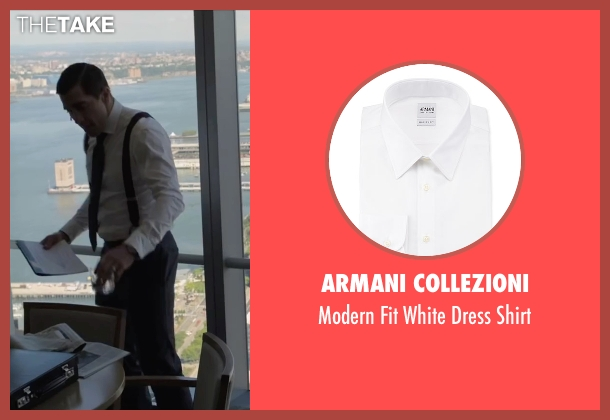 Armani Collezioni white shirt from Demolition seen with Jake Gyllenhaal (Davis Mitchell)
