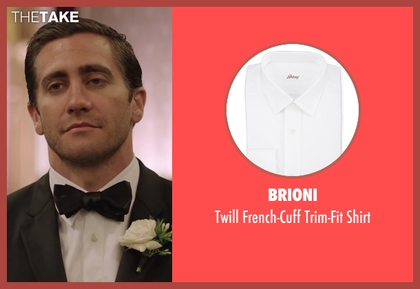 Brioni white shirt from Demolition seen with Jake Gyllenhaal (Davis Mitchell)