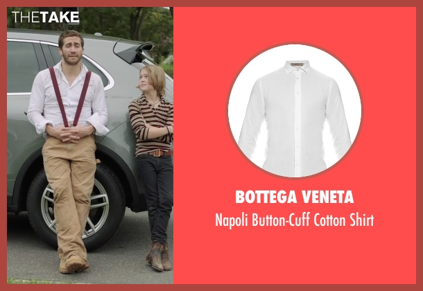 Bottega Veneta white shirt from Demolition seen with Jake Gyllenhaal (Davis Mitchell)