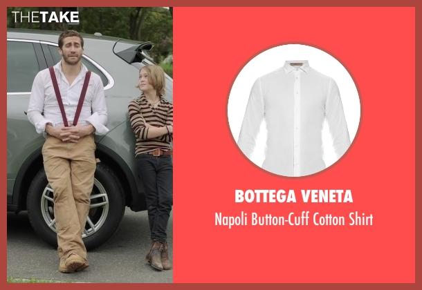 Bottega Veneta white shirt from Demolition seen with Jake Gyllenhaal (Davis Mitchell)