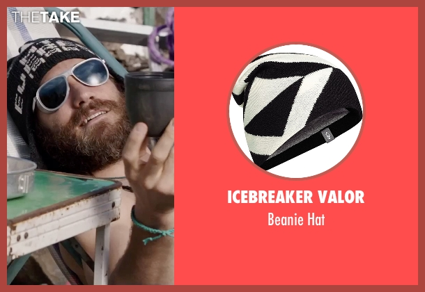 Icebreaker Valor black hat from Everest seen with Jake Gyllenhaal (Scott Fischer)