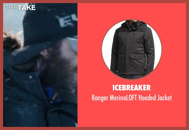 Icebreaker black jacket from Everest seen with Jake Gyllenhaal (Scott Fischer)