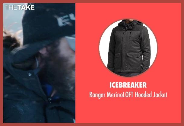 Icebreaker black jacket from Everest seen with Jake Gyllenhaal (Scott Fischer)