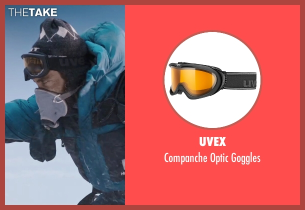 Uvex goggles from Everest seen with Jake Gyllenhaal (Scott Fischer)