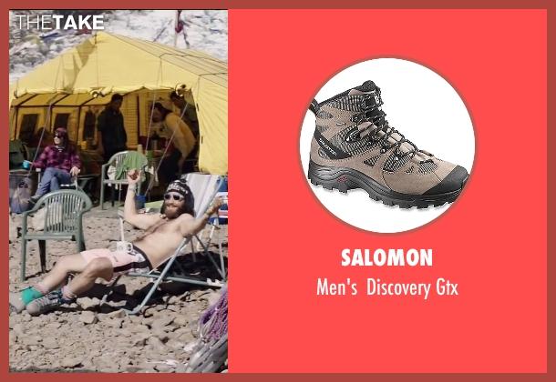 Salomon gray gtx from Everest seen with Jake Gyllenhaal (Scott Fischer)