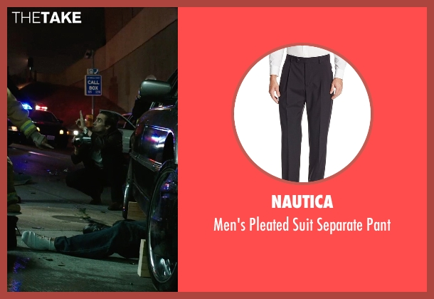 Nautica black pant from Nightcrawler seen with Jake Gyllenhaal (Louis Bloom)