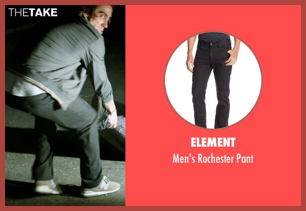 Element black pant from Nightcrawler seen with Jake Gyllenhaal (Louis Bloom)