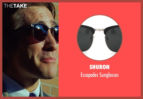 Shuron black sunglasses from Nightcrawler seen with Jake Gyllenhaal (Louis Bloom)