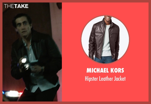 Michael Kors brown jacket from Nightcrawler seen with Jake Gyllenhaal (Louis Bloom)