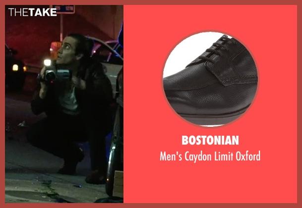 Bostonian brown oxford from Nightcrawler seen with Jake Gyllenhaal (Louis Bloom)