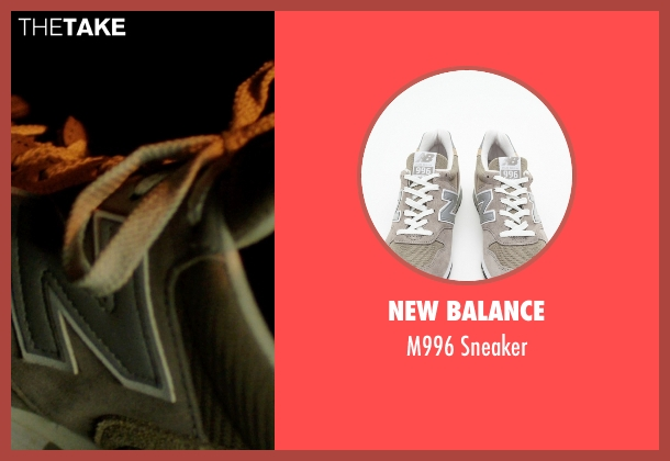 New Balance gray sneaker from Nightcrawler seen with Jake Gyllenhaal (Louis Bloom)