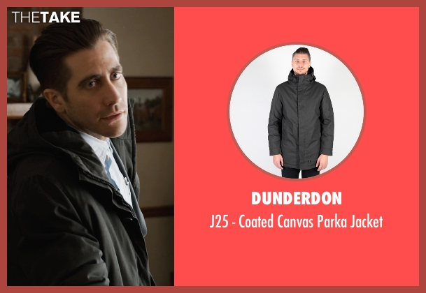 Dunderdon black jacket from Prisoners seen with Jake Gyllenhaal (Detective Loki)